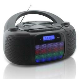 Magnavox MD6972 CD Boombox with Digital AM FM Radio Color Ch