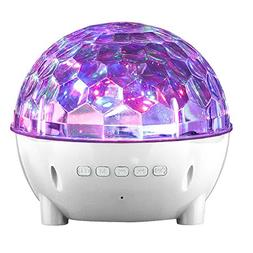Mini Colorful Stage Lights Wireless Speaker for Oppo Find X,