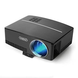 Video Mini Projector Portable HD Support 1080P Home Theater