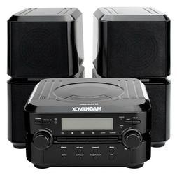 Magnavox MM435 Compact Shelf System Black