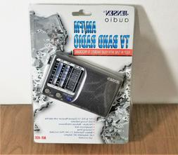 JENSEN MR-400 TV Band Portable Radio