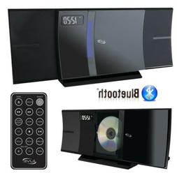 NEW ILIVE Bluetooth FMRadio CDPlayer Stereo Shelf System w/U