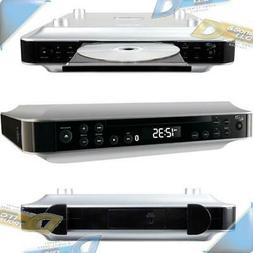 NEW ILIVE BT+Wireless FM Radio CD Player Under-Cabinet Music