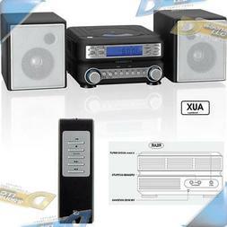 NEW GPX CD Micro Stereo Shelf System w/Digital AM/FM Radio R