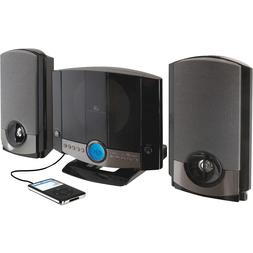 NEW GPX Home Music System Stereo Speakers Wired Aux Radio Au