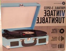 Innovative Technology Nostalgic 3-Speed Vintage Suitcase Tur