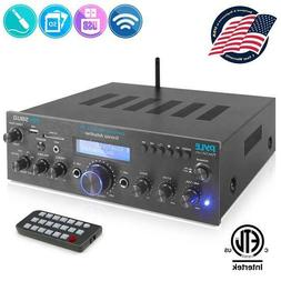 Pyle PDA5BU.0 Home Compact Bluetooth Desktop Stereo Receiver