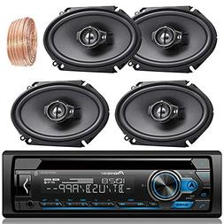 Pioneer DEH-S4100BT Car Bluetooth Radio USB AUX CD Player Re