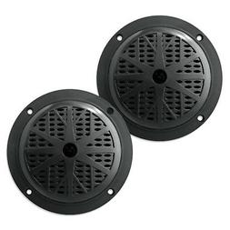 Pyle PLMR51B Dual 5.25'' Waterproof Marine Speakers, 2-Way F