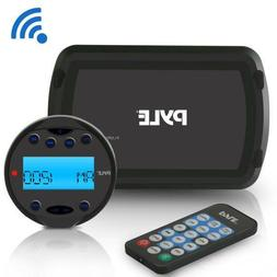 Pyle PLMR93W Bluetooth Marine Stereo Radio Receiver System W