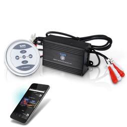 Pyle Waterproof Bluetooth Marine Amplifier Receiver - Weathe