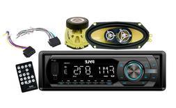 PYLE PLR44MU In-Dash AM-FM-MPX Detachable Face Receiver with