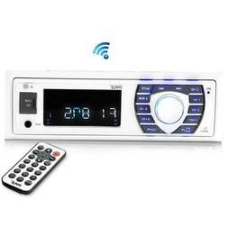 Pyle PLRMR23BTW Bluetooth Marine Receiver Stereo MP3/USB/SD
