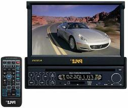 plts73fx single din dash motorized