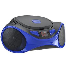 Sylvania Portable Bluetooth Cd Player AM/FM Radio Tuner Mega