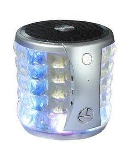 Portable Mini Wireless Speaker w/Flashing Lights for Asus RO