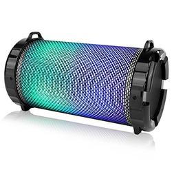 SereneLife Portable Wireless Bluetooth Boombox Stereo Speake