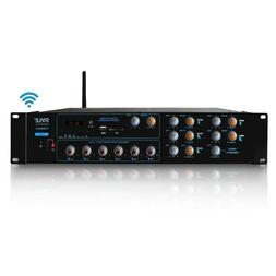 Wireless Bluetooth Power Amplifier System - 4200W 6CH Powere