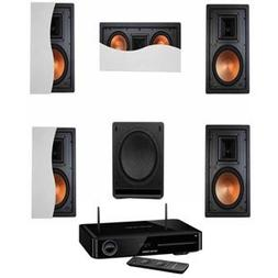 Klipsch R-5800-WII In-Wall System #12-HK BDS-580BQ 5.1 Chann