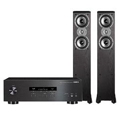 Yamaha R-S202 Stereo Receiver with Bluetooth and Polk TSi300