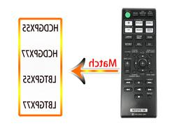 RM-AMU163 Replace for Sony AV System Remote control MHC-GPX5