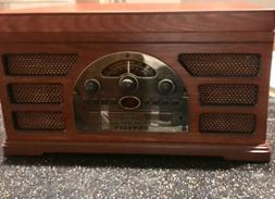 Crosley Rochester 5 in 1 Stereo Turntable Sound System - CD,