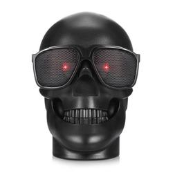 skull wireless mp3 speaker ghost