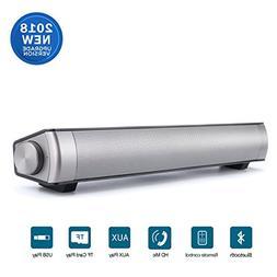 Sound Bar  Wireless Wired Surround Soundbar System Bluetooth