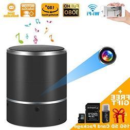Speaker Security Camera by WEMLB - HD 1080P WiFi Camera - Wi