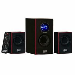 Stereo Bass System Home Audio Shelf Sound Speakers Wireless