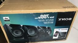 SONY TOTAL 700W RMS HOME ENTERTAINMENT AUDIO SYSTEM  MHC-ECL