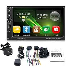 Umiwe 7 inch HD Touch Screen Car MP5 Player, Wireless Connec