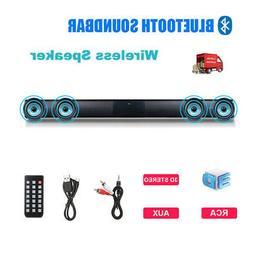 TV Home Theater Soundbar Bluetooth Speaker System 4*Subwoofe