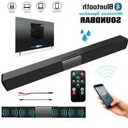 TV Stereo 4* Speaker Home Theater Sound Bar Subwoofer Blueto