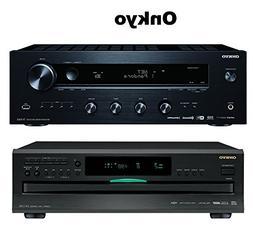 Onkyo TX-8160 Network Stereo Receiver + Onkyo DXC390 6 Disc