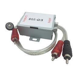 MagiDeal Universal Car Stereo Head Audio RCA Amplifier Noise