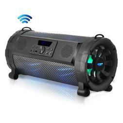 Pyle Bluetooth Boombox Street Blaster Stereo Speaker - Porta