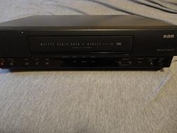 RCA VCR Vr 605hf Home Theatre Hi-fi Stereo 4 Head Video Syst
