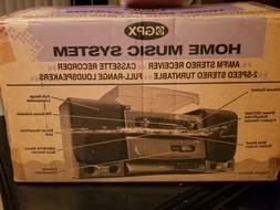 Vintage  nib gpx home music system s3531 turntable cassette