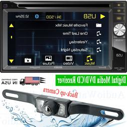 "Jensen VX3528 6.2"" 2-Din Digital Media DVD/CD Receiver Car S"
