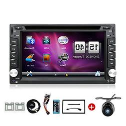 YUNTX Wince 6.2 Inch Double DIN Gps Navigation For Universal