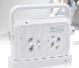Janboo Wireless Portable TV Speaker,2.4ghz TV Soundbox,100ft