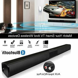 Wireless Sound Bar Stereo Speaker System Bass TV Home Theate